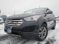 This 2014 Hyundai Santa Fe is offered in the Sport trim