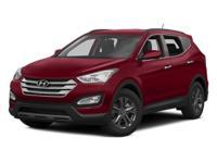 **CERTIFIED READY** 2014 Hyundai Santa Fe Sport!
