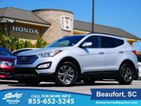 2014 Hyundai Santa Fe Sport in Silver. Stability and