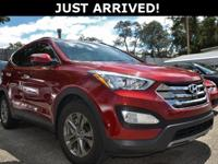 This Santa Fe Sport features:  CARFAX One-Owner.