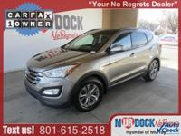 Gray 2014 Hyundai Santa Fe Sport 2.4L AWD 6-Speed