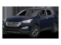This 2014 Hyundai Santa Fe Sport AWD 4dr 2.4 is Well