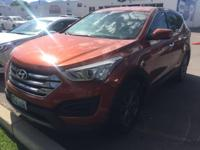 Practically New Hyundai Santa Fe Sport with Only One