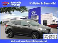 Hyundai Certified! CARFAX 1-Owner AWD iPod/aux input