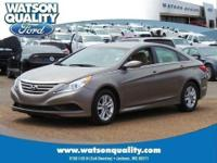 Meet our stunningly redesigned 1-Owner 2014 Sonata GLS