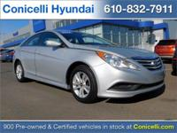 New Arrival! This Hyundai Sonata is Certified Preowned!