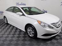 2014 Hyundai Sonata Certified. CARFAX One-Owner. Cloth,