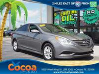 This 2014 Hyundai Sonata GLS in Gray features: Recent