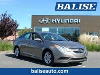 2014 Hyundai Sonata GLS one owner with a perfect