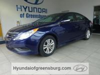 ***CERTIFIED PRE-OWNED HYUNDAI***. ABS brakes, Alloy