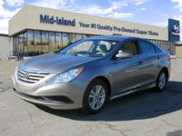 This 2014 Hyundai Sonata GLS is Well Equipped with
