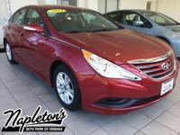 Recent Arrival! Certified. 2014 Hyundai Sonata in Red,
