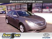 HYUNDAI CERTIFIED and ONE OWNER. Popular Equipment