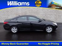 Options:  2014 Hyundai Sonata Gls|Black|Clean Vehicle