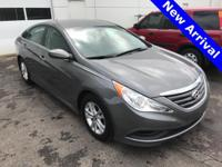 2014 Hyundai Sonata GLS. Cloth. Outstanding fuel