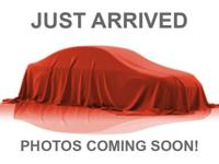 ONE OWNER, LOW MILES, CLEAN VEHICLE HISTORY REPORT, and