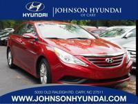 2014 Hyundai Sonata GLS, Clean CarFax, and One Owner.
