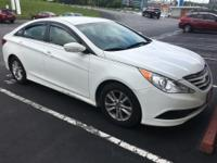 Recent Arrival! CARFAX One-Owner. White 2014 Hyundai