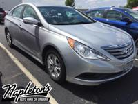 Recent Arrival! Certified. 2014 Hyundai Sonata in