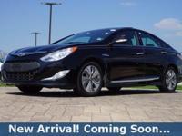 2014 Hyundai Sonata Hybrid Limited in Eclipse Black,