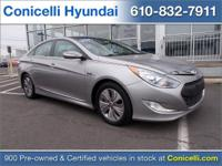 This Hyundai Sonata Hybrid is Certified Preowned!