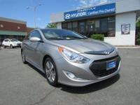 2014 Hyundai Sonata Hybrid Limited In Pewter Gray