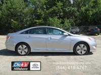 1-OWNER HYBRID! This Sonata Hybrid sedan uses a single