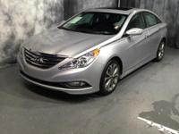 CARFAX One-Owner. Silver 2014 Hyundai Sonata Limited