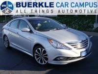 2014 Sonata Limited 2.0T. Get the NEW look for the used