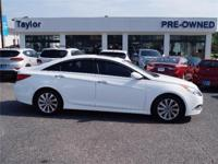 This Hyundai Sonata is Certified Preowned! This 2014