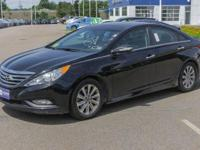 New Price! Phantom Black Metallic 2014 Hyundai Sonata
