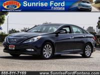 Our 2014 Hyundai Sonata Limited is luxurious and