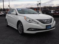 Very Rare, and very low miles, White Certified Sonata