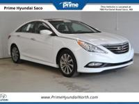 CARFAX One-Owner! 2014 Hyundai Sonata Limited in Pearl