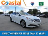 This 2014 Hyundai Sonata Limited in White features: FWD
