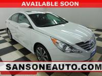 CARFAX One-Owner. White 2014 Hyundai Sonata Limited FWD