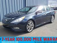 This outstanding example of a 2014 Hyundai Sonata SE is