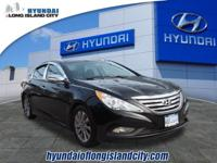 For a smoother ride, opt for this 2014 Hyundai Sonata