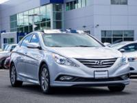 CARFAX One-Owner. Certified. Silver 2014 Hyundai Sonata