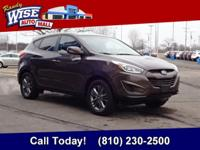 2015 Tucson. One Owner with a Clean CARFAX! Low Miles!