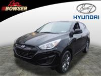 This 2014 Hyundai Tucson GLS includes braking assist, a