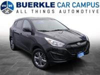 2014 Tucson GLS. This great-looking, AWD Hyundai has a