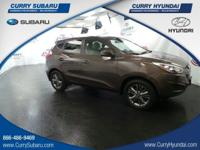 Check out this 2014 Hyundai Tucson GLS. Its Automatic