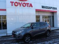 This 2014 Hyundai Tucson GLS is proudly offered by