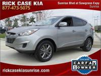 2014 Hyundai Tucson GLS in Gray, Roadside Assistance,