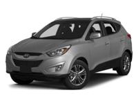 Step into the 2014 Hyundai Tucson!  It comes equipped