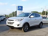 HYUNDAI CERTIFIED- One Owner Tucson that comes with