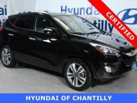 Ash Black 2014 Hyundai Tucson Limited AWD 6-Speed