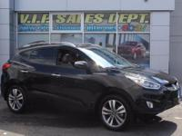 Check out this gently-used 2014 Hyundai Tucson we