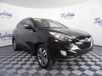 2014 Hyundai Tucson Black Certified. CARFAX One-Owner.